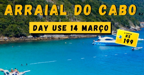 Arraial do Cabo - Day Use